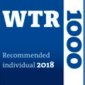 World Trademark Review WTR1000 2018 Recommended Individual - CLAttorneys.com